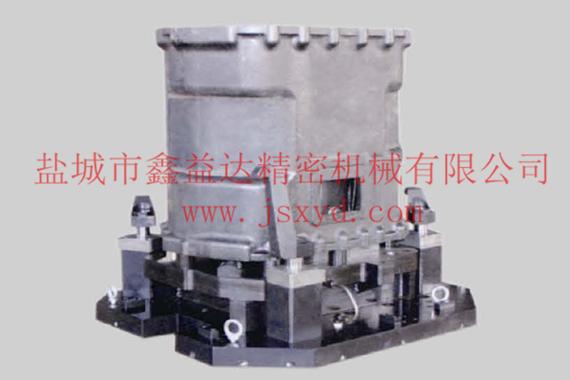 DC090中壳周边孔卧加液压夹具