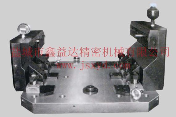 HW10中壳OP20卧加液压夹具