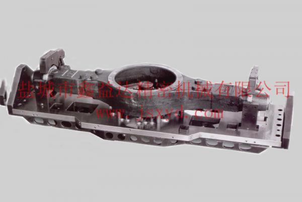 武汉桥壳四轴回转液压夹具