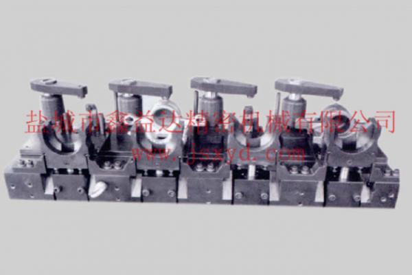制动钳体镗缸孔液压夹具