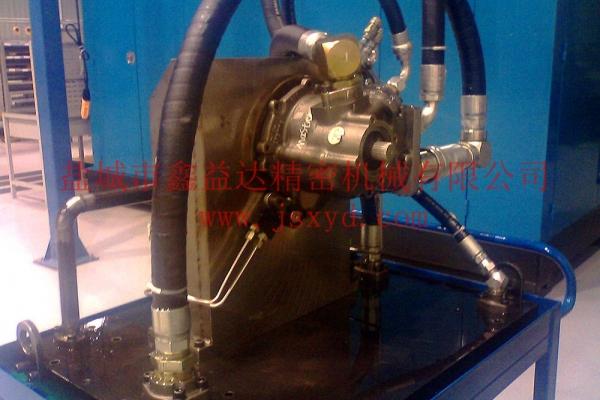 卡特油泵测试工装