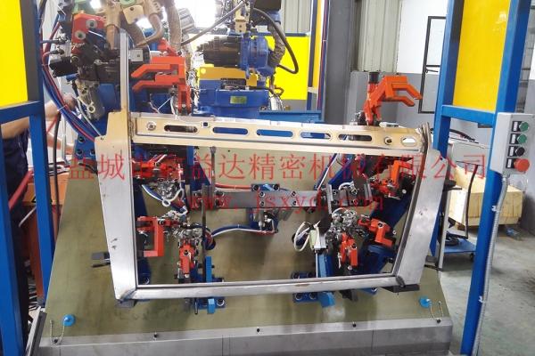 奇瑞T18车型汽车门框焊接总成工装